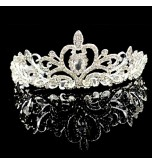 Women's Rhinestone / Crystal / Alloy Headpiece-Wedding / Special Occasion Tiaras 1 Piece Round