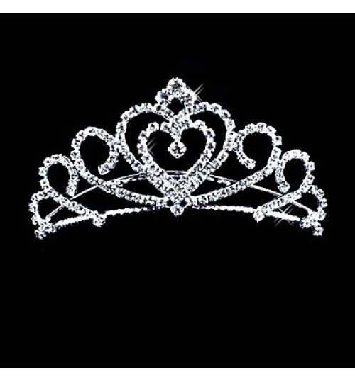 Women's Alloy Headpiece-Wedding / Special Occasion Tiaras Clear Round