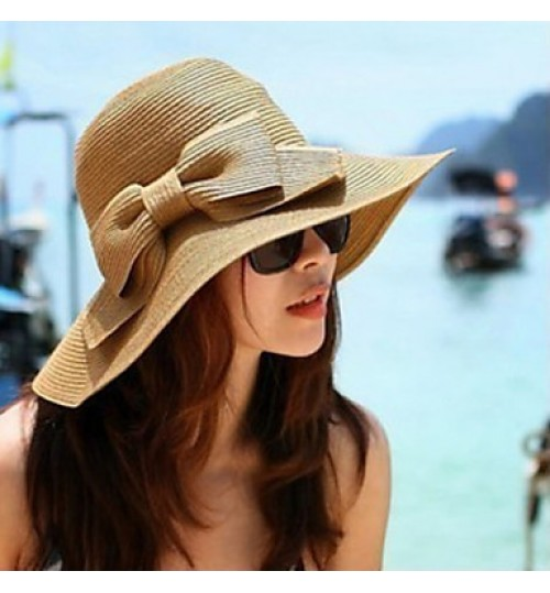 Women Basketwork Hats With Special Occasion/Casual/Outdoor Headpiece(More Colrs)
