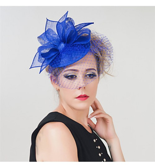 Girl Wedding Party  Sinamay  Net Clip Headband Fascinator SFC12418 (more colors)