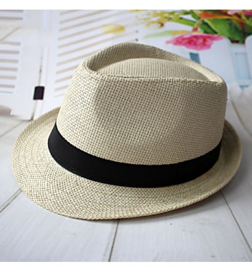 Men Leisure Basketwork Hats With Casual/Outdoor Headpiece